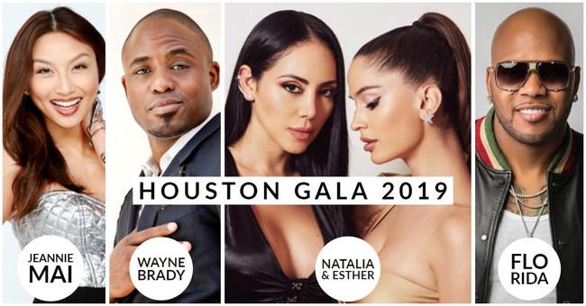 Houston Gala entertainment includes Jeannie Mai, Wayne Brady, Natalia & Esther, Flo Rida