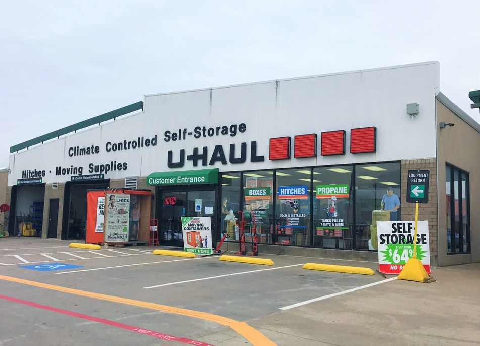 Six U-Haul Companies across northern Texas are offering 30 days of free self-storage and U-Box® container usage to residents who have been impacted by Sunday night's severe storms.
