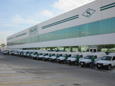 Rolcar Centre, a leading company in the auto parts sales market in Mexico.