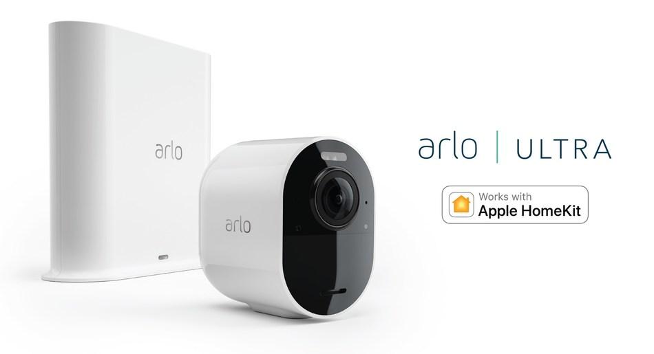 ARLO ANNOUNCES APPLE HOMEKIT COMPATIBILITY FOR ARLO ULTRA