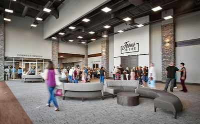 Prestigious church design and construction awards recognize East Tennessee contractor and architect for work on community space at new Maryville church building.