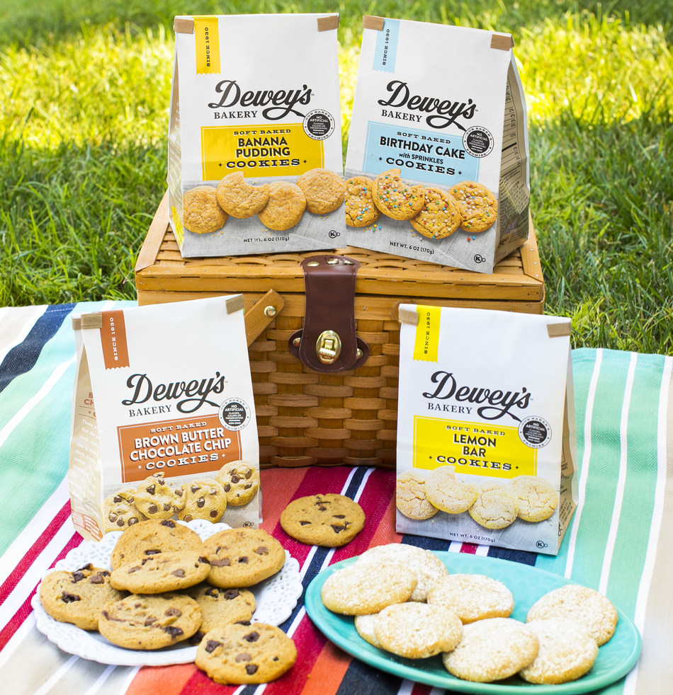 Dewey's Bakery Soft Baked Cookies are extraordinarily delicious, in flavors inspired by classic Southern bakery treats.