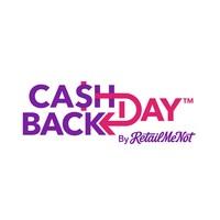 Cash Back Day Logo (PRNewsfoto/RetailMeNot)