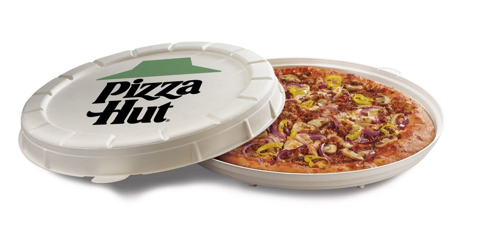 Pizza Hut announces limited-time test of a game-changing round pizza box AND the 'Garden Specialty Pizza' – topped with new plant-based 'Incogmeato' Italian sausage – available in Phoenix, Arizona while supplies last.
