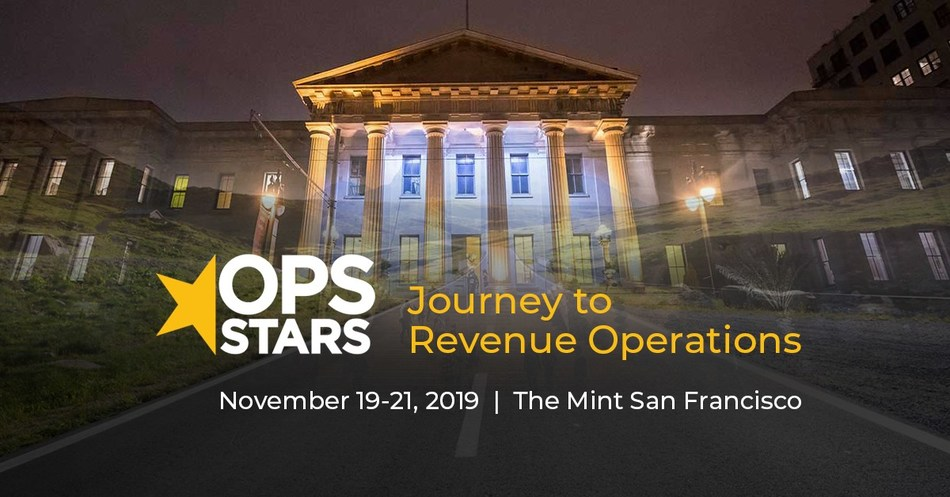 OpsStars 2019 – with double-digit growth in attendees, sponsorships and content from the prior year – will be held November 19-21 at the historic San Francisco Mint.