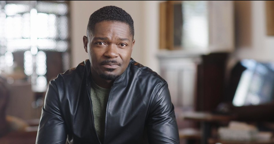 David Oyelowo participates in the Movember public service announcement