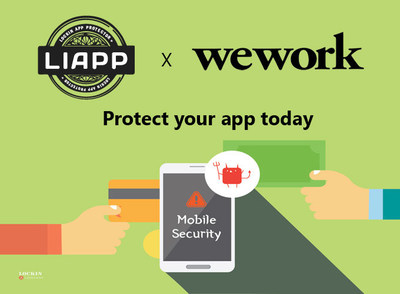 Lockin Company and WeWork signed a partnership contract to establish a more safe environment for mobile applications.