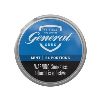 General Snus Mint Can