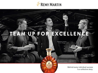 """""""TEAM UP FOR EXCELLENCE"""": Rémy Martin Celebrates Collective Success Through Its New Global Campaign"""