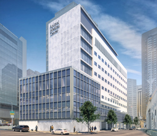 Located in the heart of New York City's biomedical community, the renovated exterior will display Animal Medical Center's role as a preeminent institution for veterinary care and research. The Gift of Love campaign will expand AMC's clinical and client space by more than 11,000 square feet.