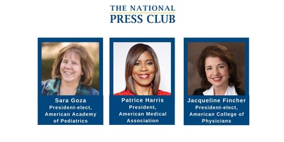 Leaders from three of the largest U.S. physician groups to call for tighter e-cigarette regulation at Oct. 30 National Press Club Headliners event