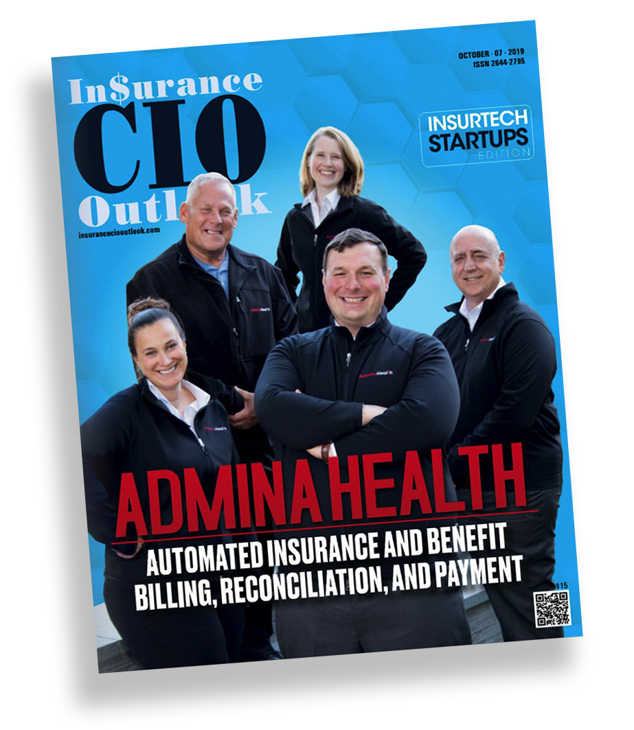 AdminaHealth® Featured as a Top 10 InsureTech Startup of 2019