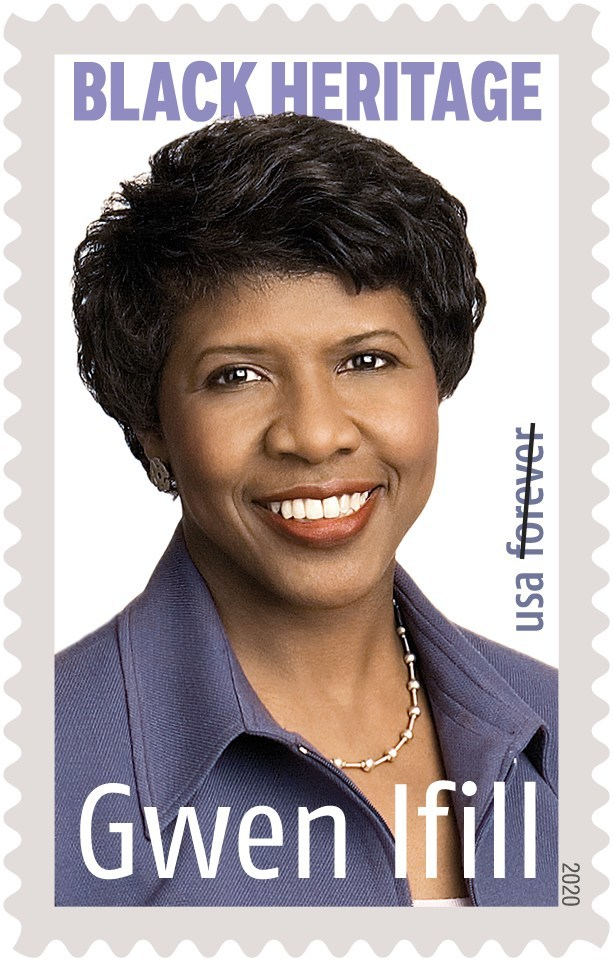 """""""The U.S. Postal Service's 2020 stamp program has something for everyone, including Forever stamps honoring legendary golfer Arnold Palmer and esteemed journalist Gwen Ifill."""""""