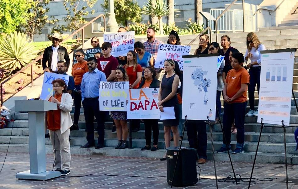 L.A. DAPA releases new data at L.A. City Hall 10/22/19