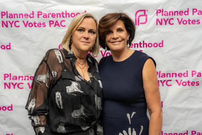 Laura McQuade, President & CEO, Planned Parenthood NYC Votes PAC and Jill Lafer, Parenthood Political Action Committee board member. Photo credit: Giada Paoloni