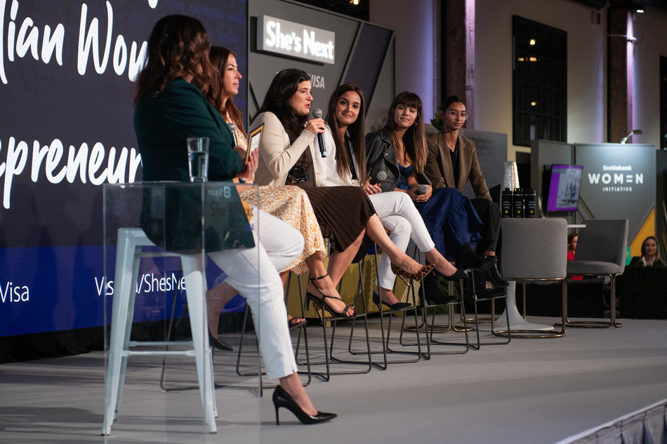 She S Next Empowered By Visa Launches In Toronto Offering Canadian Women Entrepreneurs Tools And Resources To Help Them Thrive