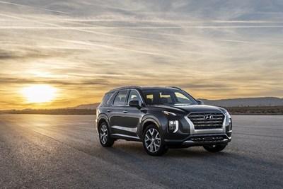 El Palisade 2020 de Hyundai ha sido designado como el Vehículo Oficial del 49º Auto Show Internacional de Miami