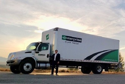 Ryan Reddick, branch manager of the first Enterprise Truck Rental location in the western Montana area, located at 7910 Thornton Drive, Missoula, MT.