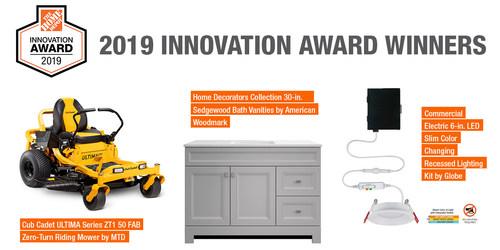 The Home Depot Innovation Award 2019 Winners