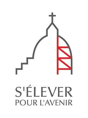 Logo : S'élever pour l'avenir (Groupe CNW/L'Oratoire Saint-Joseph du Mont-Royal)