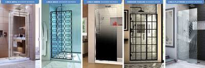 Dreamline Launches New Shower Door Products Expanding