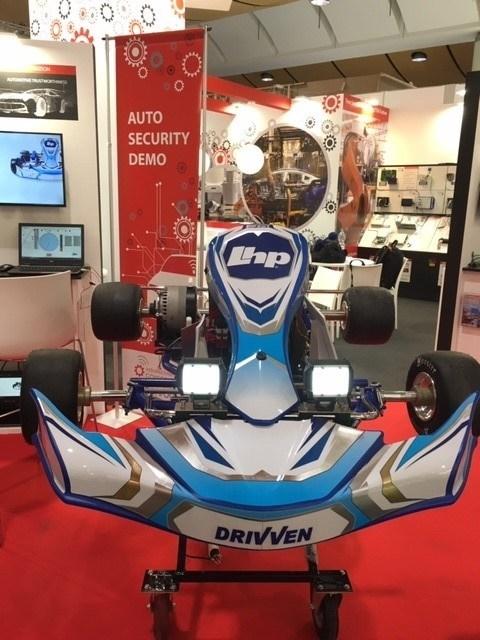 LHP Cyber Go-Kart at Hannover Messe 2019