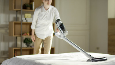 RAYCOP's Omni Power UV+ Cordless Vacuum incorporates the company's signature UV light sanitization capability, which can be used on floors, upholstery and other fabrics.