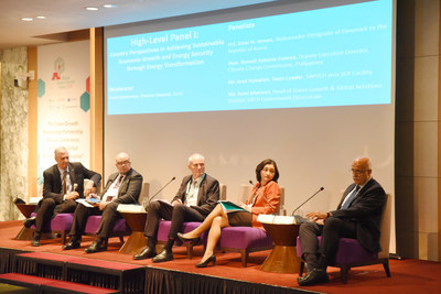 Panel at Global Green Growth Week 2019