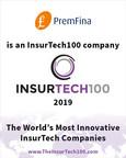 PremFina Named Among FinTech Global's Top InsurTech 100 Companies
