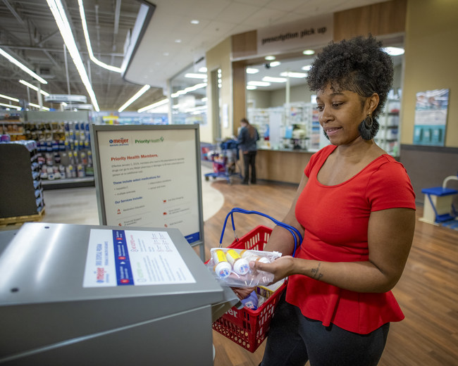 Meijer is reminding customers that this coming weekend is the perfect time to clear out medicine cabinets and drawers of unused and expired medications. The retailer has kiosks in each of its 246 supercenter pharmacy locations and has collected more than 20 tons of unwanted medications since February. Customers can access the kiosks for disposal year-round at the Meijer stores during normal pharmacy hours.