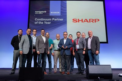 Partner of the year | Sharp Electronics Corp.