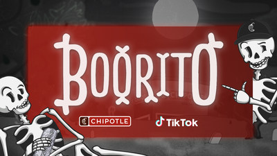 This year, to truly get into spooky season, Chipotle is launching a TikTok Transformation contest, #Boorito. TikTok users can participate by posting a TikTok video featuring their festive before and after Halloween transformations.