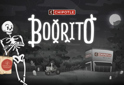 Chipotle anunció hoy el regreso de Boorito, la celebración anual de Halloween de la marca. El jueves 31 de octubre, desde las 3 p.m. hasta el cierre, los clientes que estén disfrazados en cualquier local de Chipotle en EE. UU. podrán recibir un burrito, tazón, ensalada o taco por solo US$4 y acceder a los canjes de Chipotle.