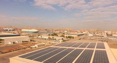 Phanes Group elige la solución de paneles fotovoltaicos inteligentes de Huawei para impulsar el proyecto de energía solar distribuida más grande en los EAU (PRNewsfoto/Huawei)