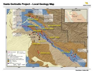 Santa Gertrudis (CNW Group/Metalla Royalty and Streaming Ltd.)