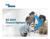 SVB Financial Group Announces 2019 Third Quarter Financial Results