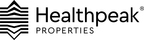 Healthpeak Properties Announces Pricing of Any and All Cash Tender Offers