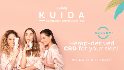 "Kuida has unveiled a new campaign, titled ""We Do it Different,"" featuring jewelry designer Daniela Salcedo, writer Amalia Andrade and news anchor Jessica de la Peña as brand ambassadors. (CNW Group/Khiron Life Sciences Corp.)"