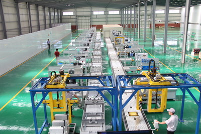 Oumilo electric automation production line (PRNewsfoto/Hekou District People's Governm)