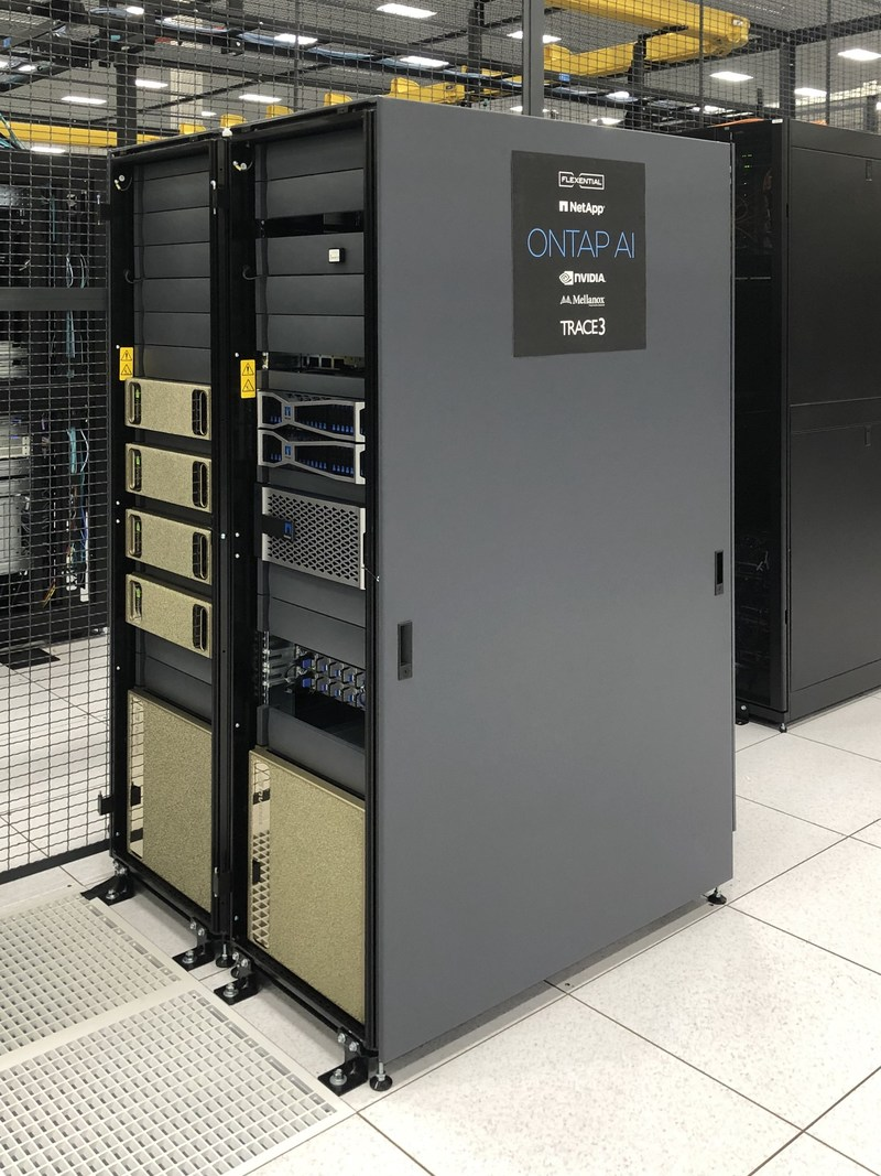 ONTAP AI now located in the Flexential: Portland (Hillsboro) data center.
