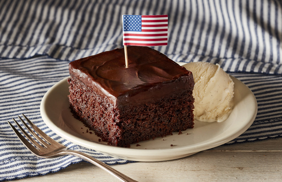 All military veterans will receive a choice of a complimentary slice of Double Chocolate Fudge Coca-Cola® Cake or Pumpkin Pie Latte on Nov. 11 at all Cracker Barrel locations in honor of Veterans Day.
