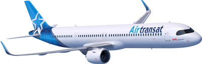 Air Transat A321neo LR (Groupe CNW/Transat A.T. Inc.)