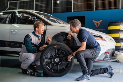 The Swedish driver is participating in the development of the first ever fully electric racecar