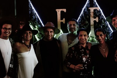 Adrián Coene, Olga Lidia Aranda, Tulio Vázquez, Mario Zetter, Eleazar Maas, Patricia de la Torre and Victor Rosales.