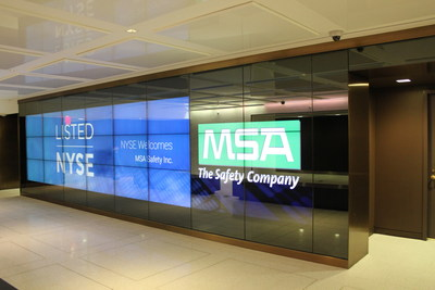 MSA Safety to host Investor Day at the NYSE on Monday, November 11, 2019.