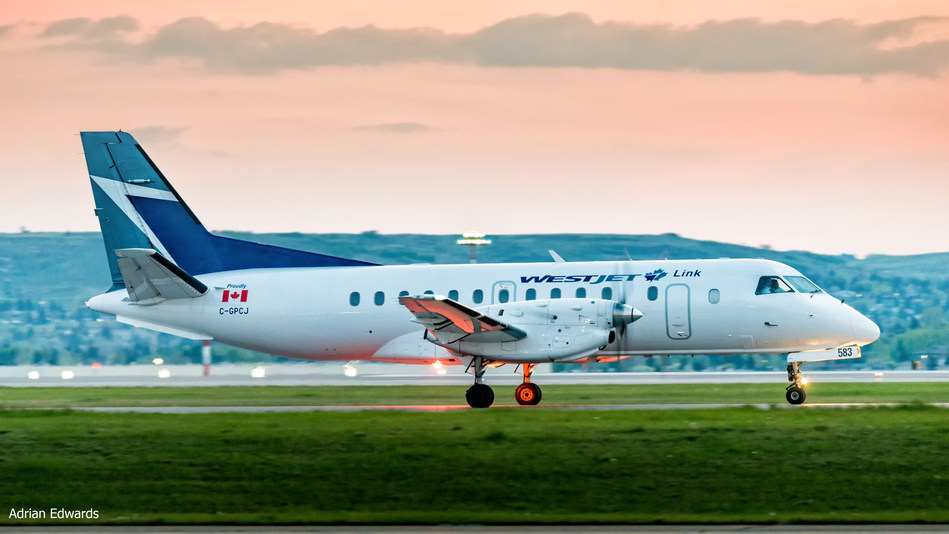 WestJet Link expands service with first flight between Vancouver and Cranbrook, B.C. (CNW Group/WESTJET, an Alberta Partnership)