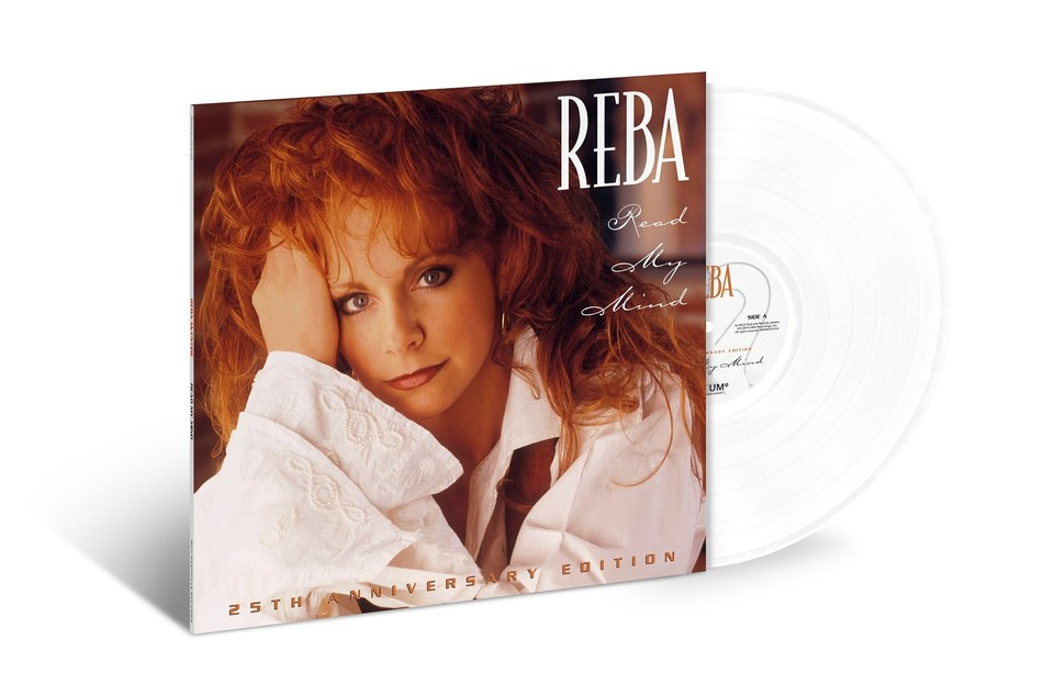 """Reba McEntire will celebrate the 25th anniversary of her classic album, """"Read My Mind"""" with a suite of new expanded anniversary editions including the first-ever vinyl release."""