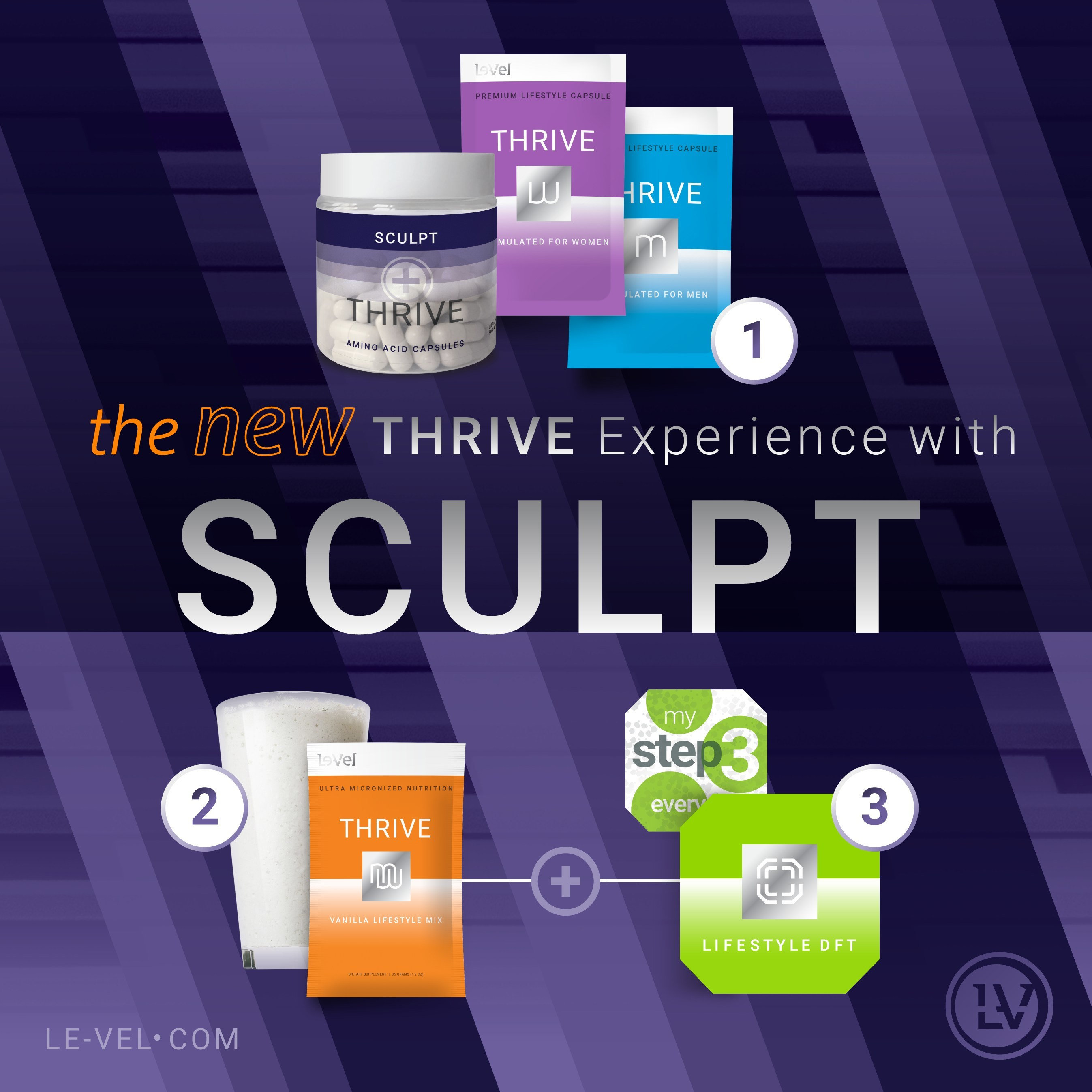 Le Vel Launches New Amino Acid Capsule