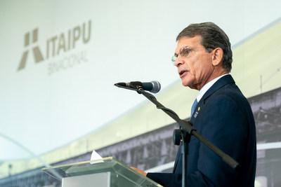 General Silva e Luna, diretor-geral brasileiro da Itaipu Binacional
