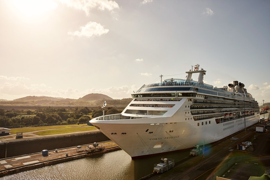 Kayak Tips: On a cruise through the Panama Canal, passengers marvel at the ingenuity of one of the world's greatest wonders. (Photo courtesy of Princess Cruises)